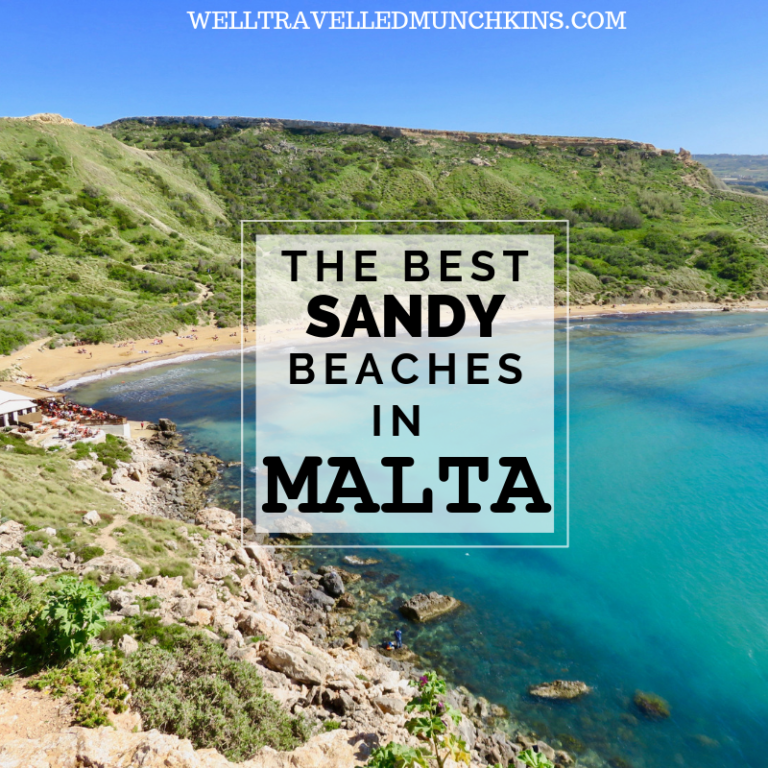 5 of Malta's Best Sandy Beaches.