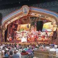 Show time at Disneyland California