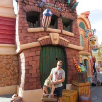 Clowning around in Toon Town